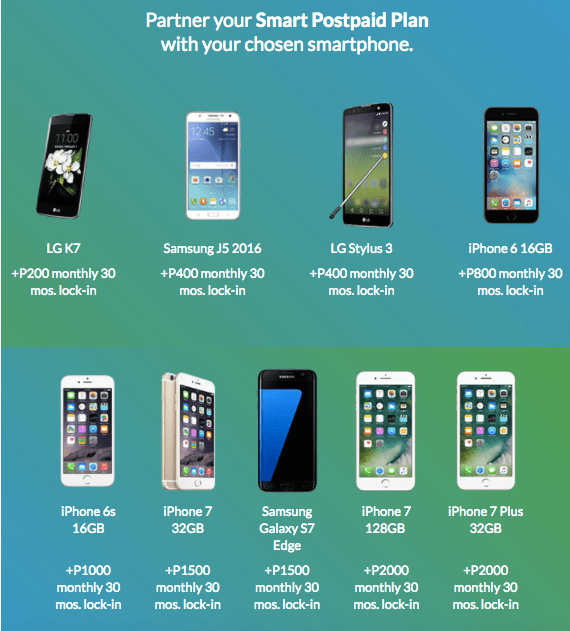 'S POSTPAID PHONES