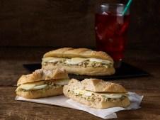 Tuna Dill Sandwich