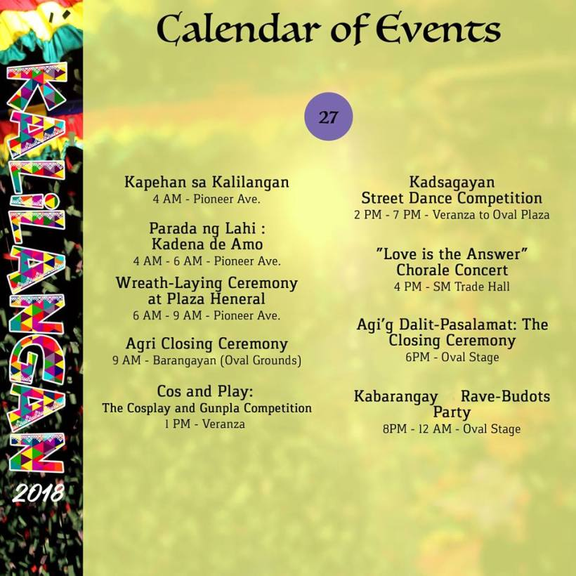 kalilangan festival february 23