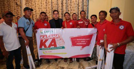 Fintq Managing Director Lito Villanueva with N. Cotabato Chairmen