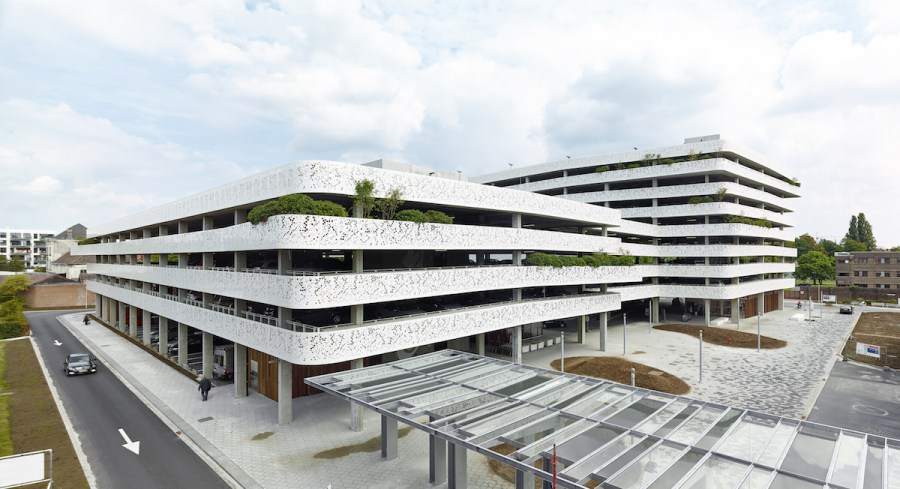 Parking AZ Sint-Lucas Gent by Abscis architecten