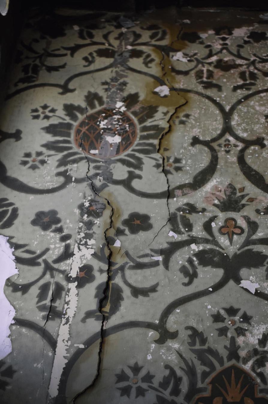 Schilderwerk voor restauratie