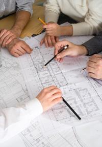 Commercial Danville Electricians planning a rewire