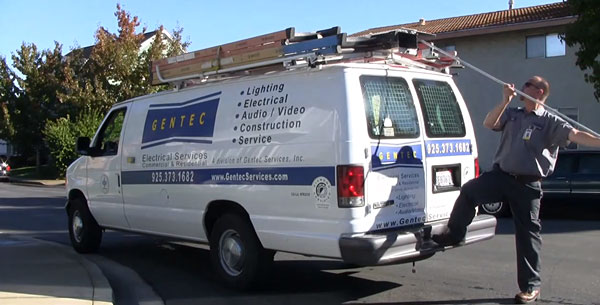 Gentec Electricians working in San Ramon
