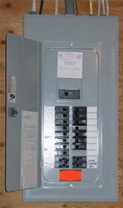 Panel upgrade in Danville home
