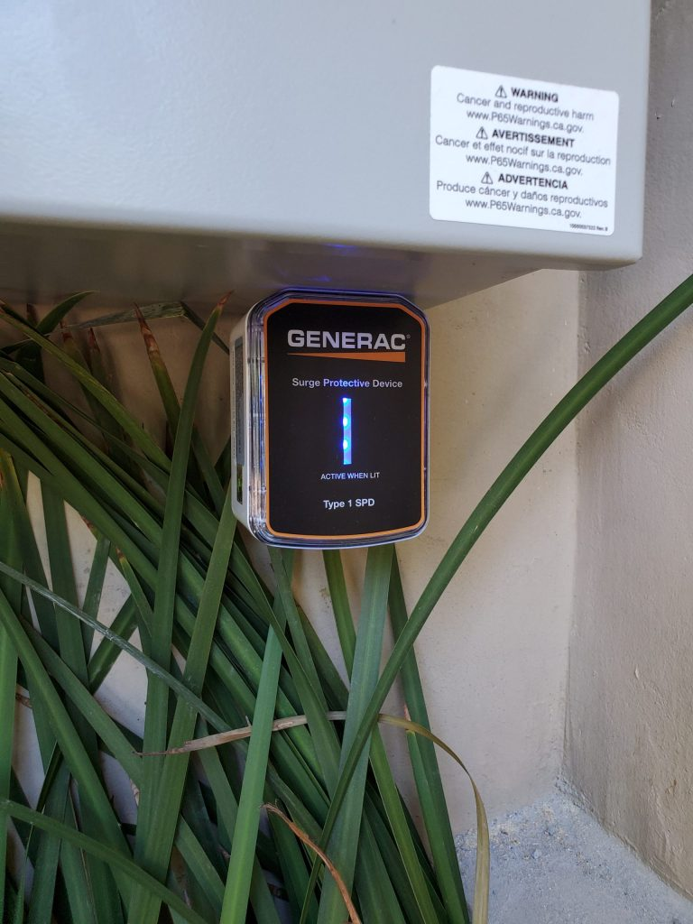 Generac Generator Indicator