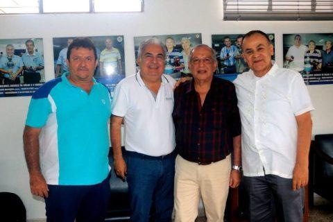 Zabulón Ruiz, Mario Villalba, Julio Carrillo y Douglas Arévalo. - Fabián Hernández/GENTE DE CABECERA