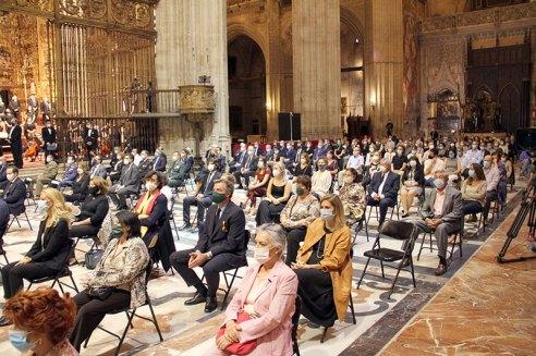 Todos los detalles del funeral en la Catedral de Sevilla (12)