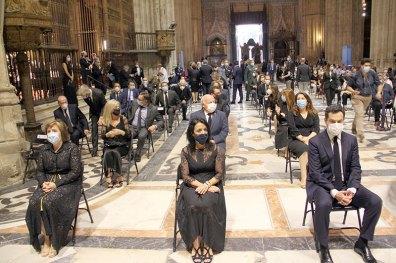 Todos los detalles del funeral en la Catedral de Sevilla (5)