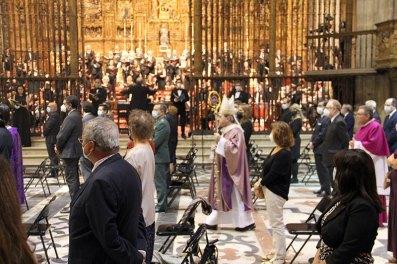 Todos los detalles del funeral en la Catedral de Sevilla (8)