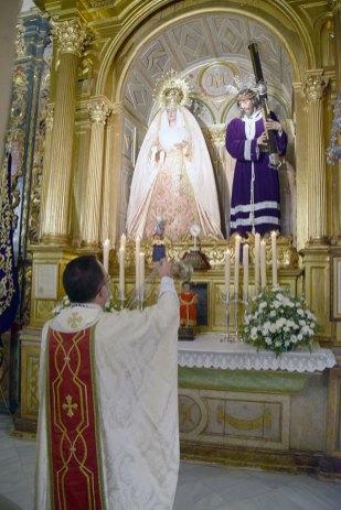José María Campos Peña, nuevo director espiritual del Nazareno de Alcalá del Río (4)