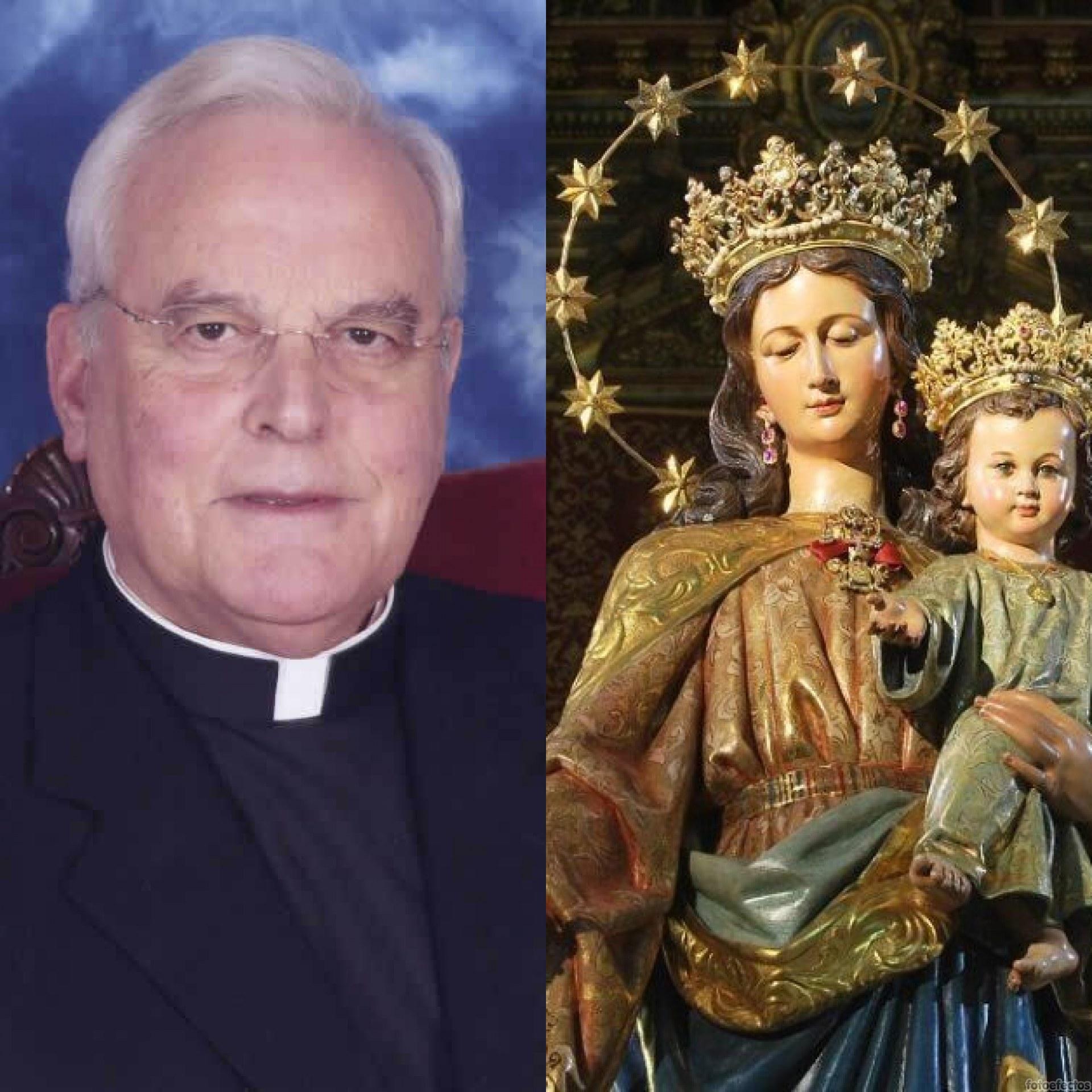 El Cardenal Amigo obsequia con la medalla de su pontificado a  María Auxiliadora en el 125 aniversario fundacional