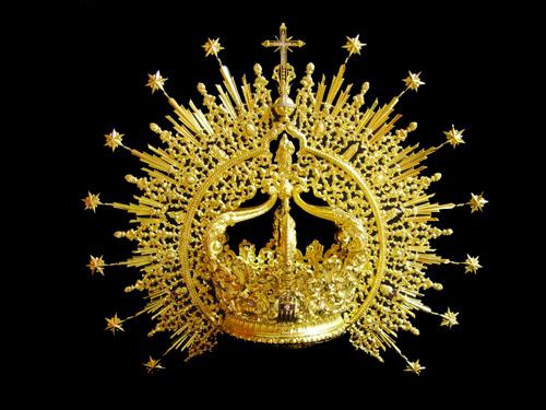 La Hermandad de las Mercedes de la Puerta Real cederá la presea de la coronación para la exposición «Glorias»