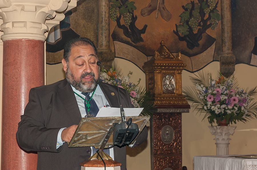 Rafael Dorado, reelegido como hermano mayor de la Conversión