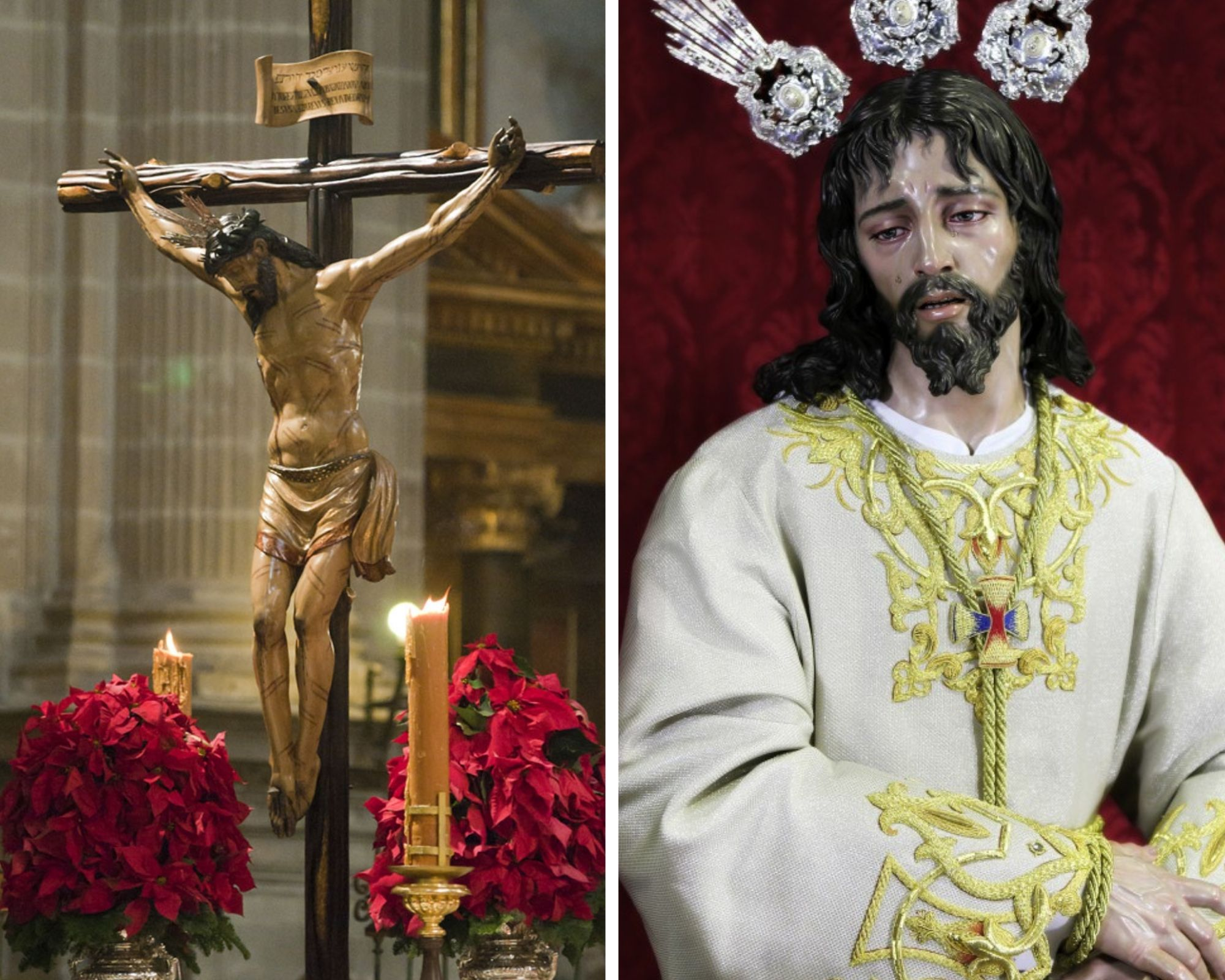 El Cristo de las Misericordias y Jesús Cautivo protagonizarán el Vía Crucis Oficial y el Cartel de la Semana Santa de Jaén 2022