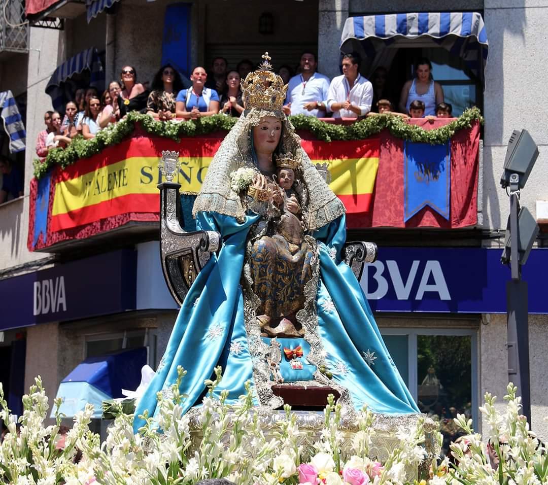 La Virgen de Valme irá en peregrinación hasta su Ermita de Cuarto el Tercer Domingo Octubre y pasará por primera vez por el hospital que lleva su nombre