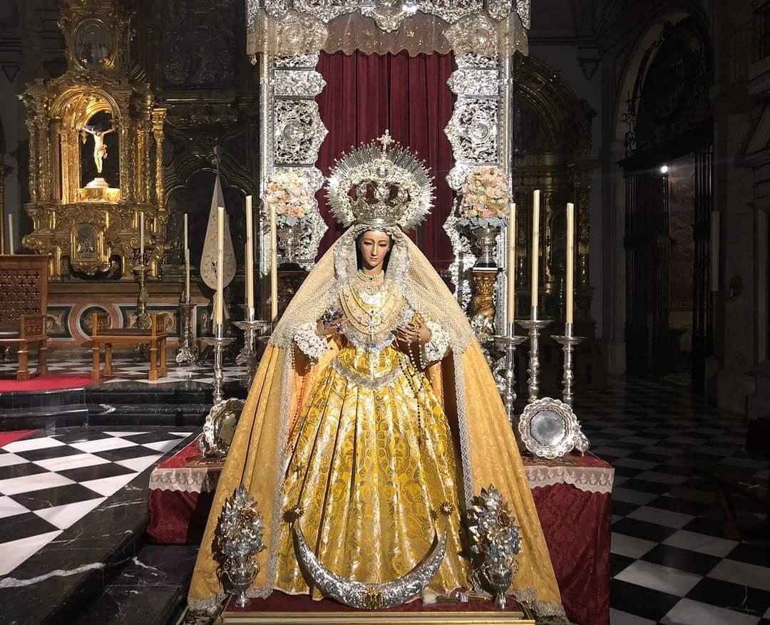 La Virgen de la Victoria de Jaén saldrá en Vía Lucis el próximo 19 de septiembre
