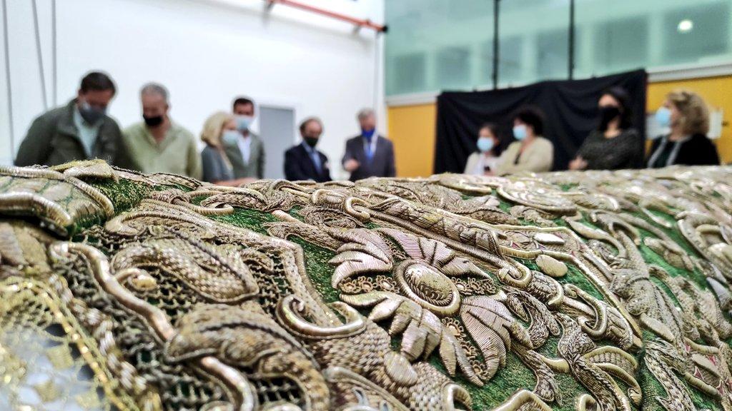 Inauguración de la exposición Patrimonio Macareno. Los oficios del arte sacro