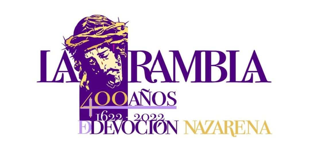 La Hermandad de Nuestro Padre Jesús Nazareno presenta la imagen y el lema del IV Centenario de la llegada del Señor a La Rambla