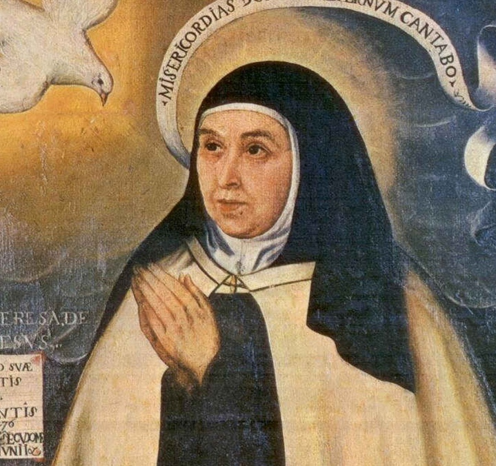 La Pastora de Santa Marina colabora hoy con los actos del día de Santa Teresa de Jesús