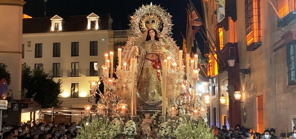 Rosario de San Julián y las Nieves de Santa María la Blanca cerraron un intenso fin de semana