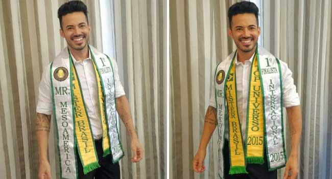 Mister Brasil 2015 Matheus Gouveia