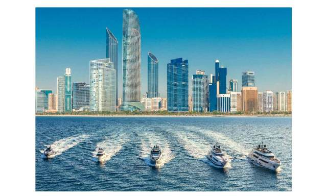 Show Ferrari e Ferretti ad Abu Dhabi