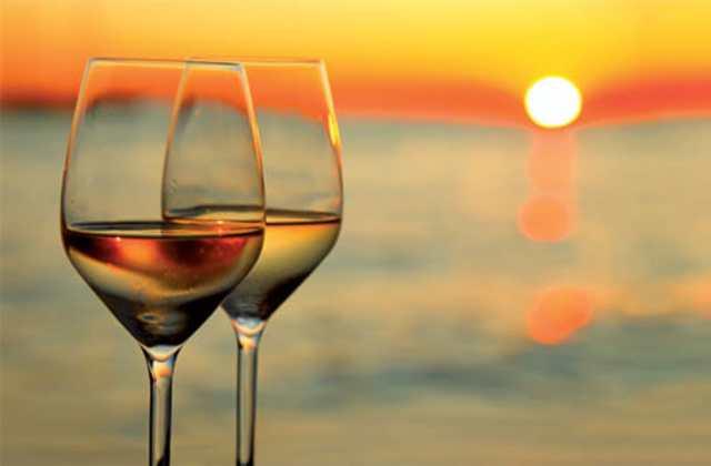 calice vino mare