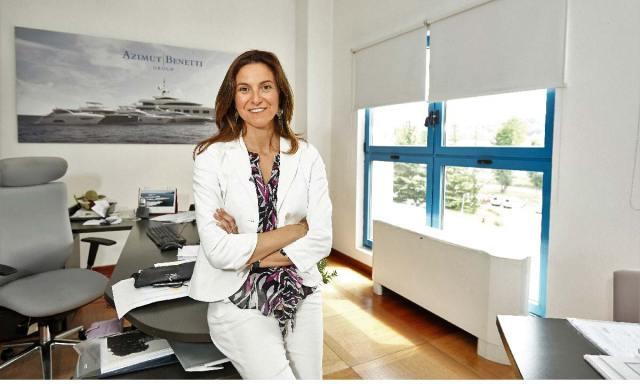 Giovanna Vitelli, vice presidente del gruppo Azimut Benetti