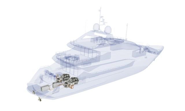 Sunseeker e Rolls Royce: primo yacht di serie a propulsione ibrida MTU