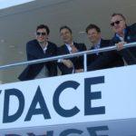 Da sinistra: Bruno Piantini, Ennio Cecchini, Gabriele Virgili e Vasco Buonpensiere