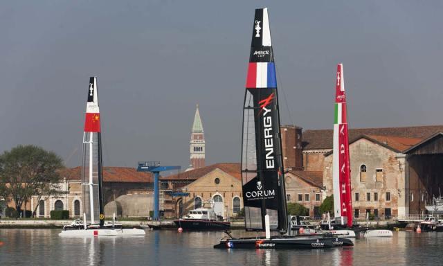 Coppa America: l'omaggio a Venezia