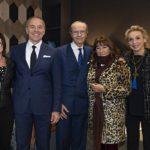 Soloportofino: da sinistra Cinzia Farinetti, Filippo Rossi, Mauro Iguera, Fulvia Linari, Alessandra Burke