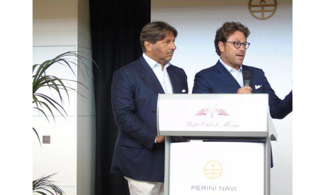 Perini Navi, Lamberto Tacoli con Edoardo Tabacchi