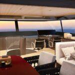 Salorenzo SX112: il flybridge