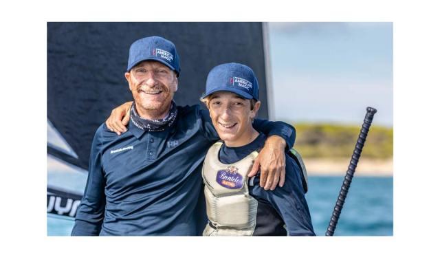 Melges 20 World Championship: Filippo Pacinotti con il figlio Andrea