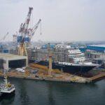 Fincantieri: il varo di Rotterdam