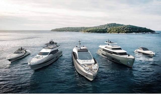 Azimut Yachts: la flotta