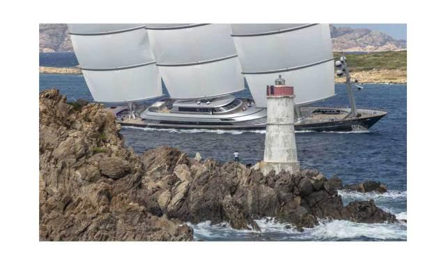 Perini Navi: il Maltese Falcon