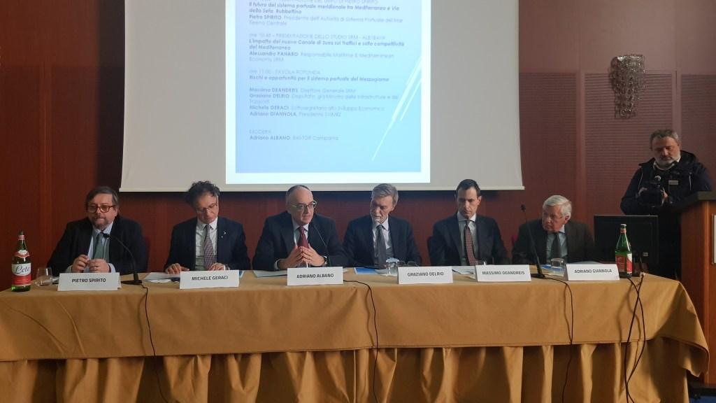 Il convegno sulle prospettive del Mediterraneo