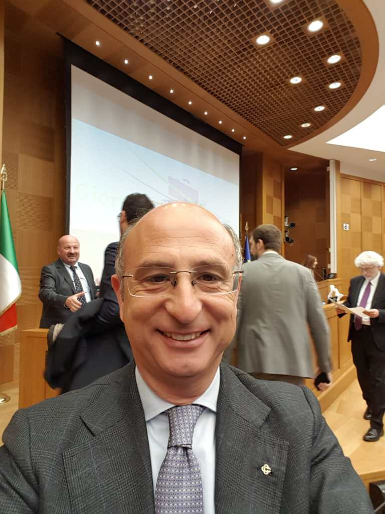"Manzo al premio ""Eccellenza Italiana"" Washington 2019."