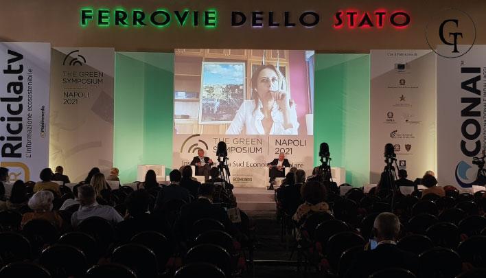 L'Arpac al Green Symposium Napoli 2021
