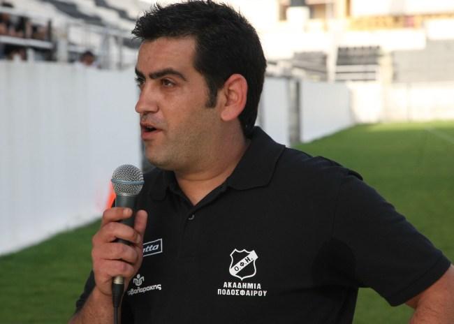 Τιτομιχελάκης: «Από τους πιο ταλαντούχους παίκτες παίκτες του ΟΦΗ ο Γιαγκιόζης»