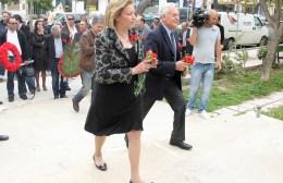Συναντήθηκε με Γερουλάνο η Μ. Σκραφνάκη