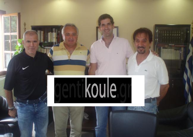 Με τον Κώστα Μπακογιάννη συναντήθηκαν Γ. Στεφανουδάκης και Νίκος Αναστόπουλος