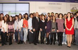 Ο ΟΤΕ–COSMOTE απένειμε τις υποτροφίες στους φοιτητές του Ν. Λασιθίου