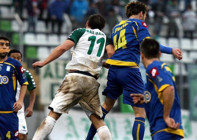 Λεβαδειακός-Αστέρας Τρίπολης 0-1