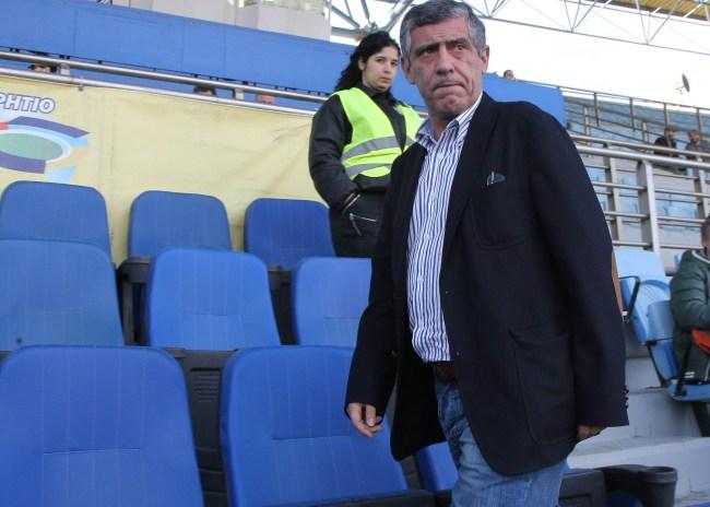 """""""Βράζουν"""" στον ΟΦΗ με τον Φερνάντο Σάντος"""