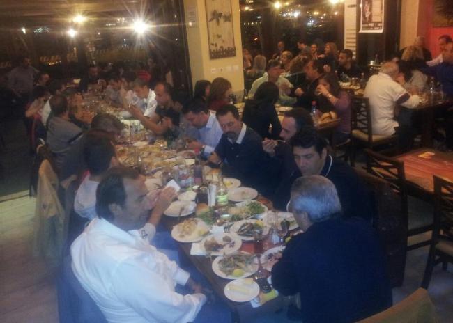 ΟΙΚΟΓΕΝΕΙΑ ο ΟΦΗ-Δείπνο της διοίκησης σε παίκτες και τεχνικό επιτελείο