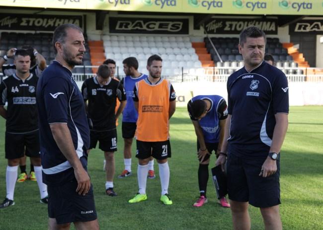 Τι ζητάει ο Δερμιτζάκης από τους ποδοσφαιριστές του
